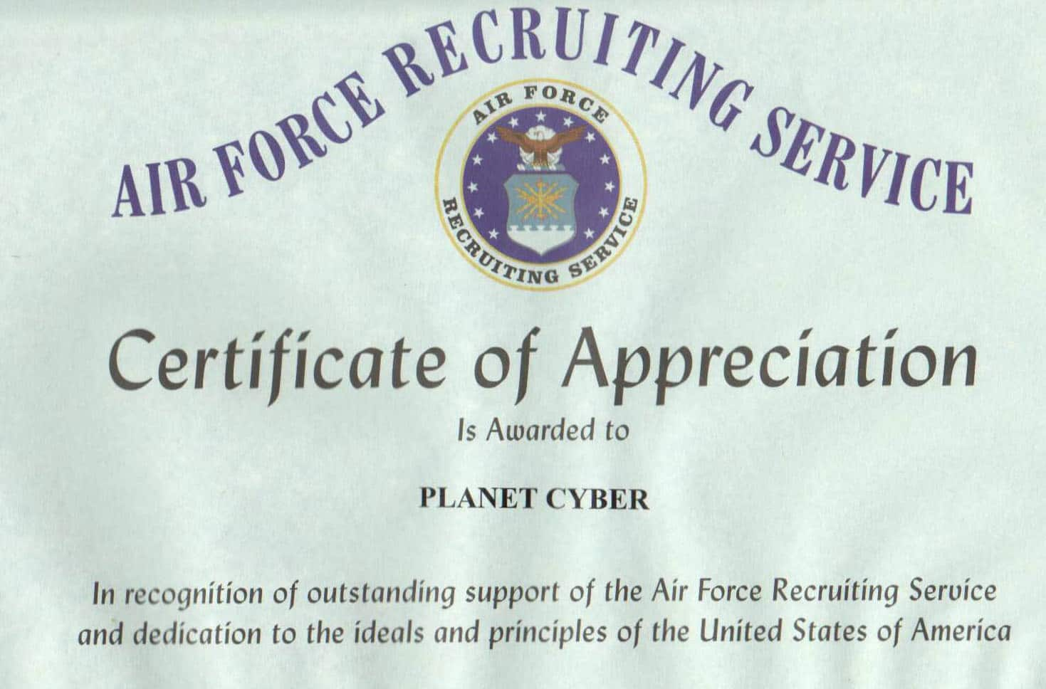 airforce Top Result 60 Beautiful Air force Certificate Of Appreciation Template